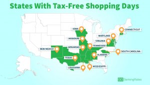 Tax-Free Weekends in Every State
