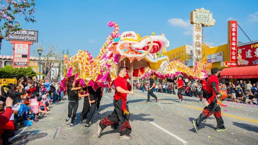 chinese new year celebration - Chinese New Year Los Angeles