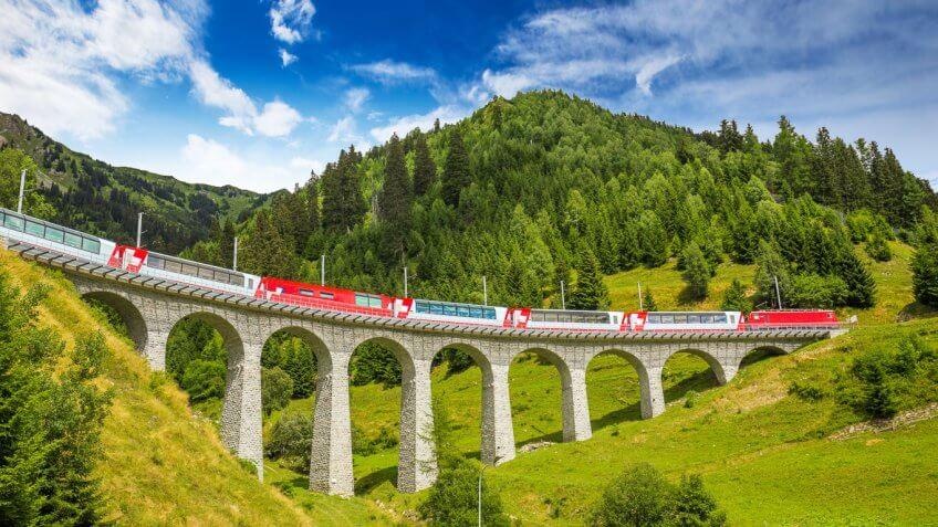 Rail Tour of Switzerland