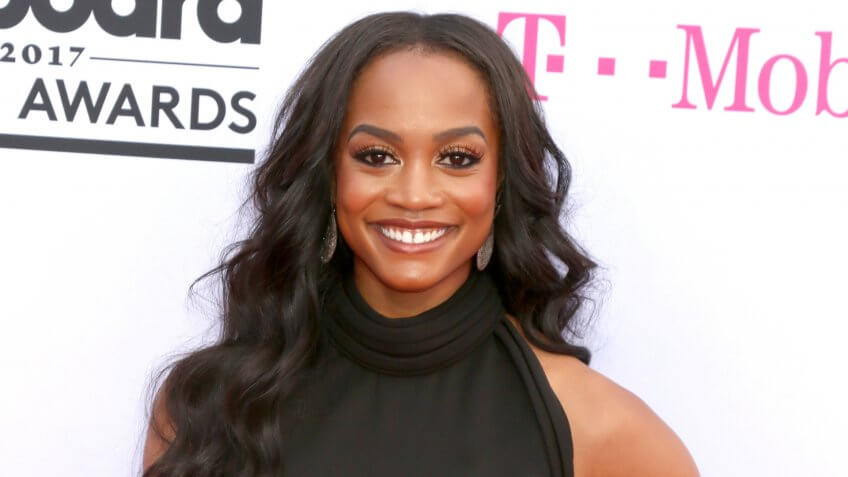 LAS VEGAS - MAY 21: Rachel Lindsay at the 2017 Billboard Music Awards - Arrivals at the T-Mobile Arena on May 21, 2017 in Las Vegas, NV.