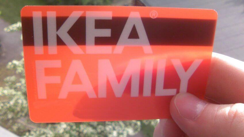 Ikea Family Card