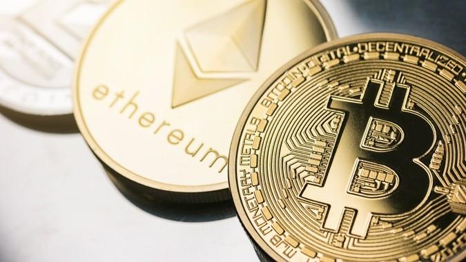cryptocurrency blockchain ethereum bitcoin litecoin