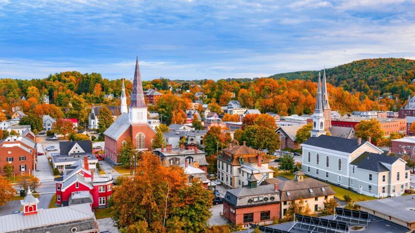 50 Vermont Average Annual Insurance Cost 1 033