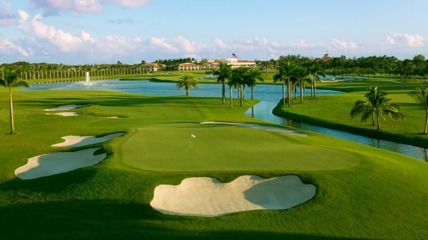 donald trump golf course national doral