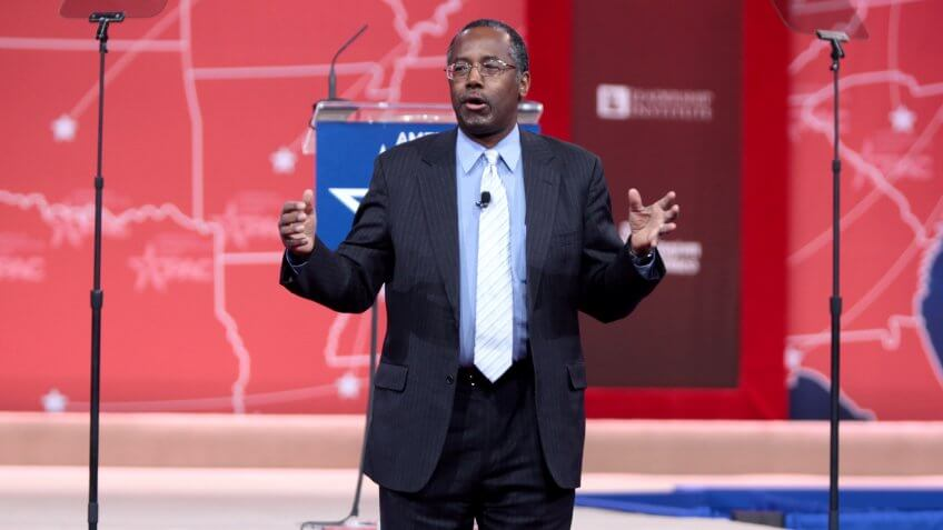 Ben Carson, Secretary of Housing and Urban Development