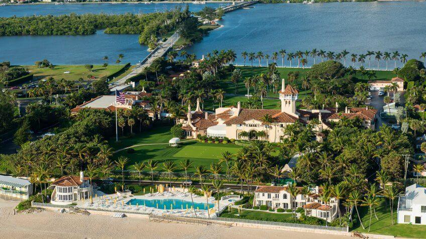 donald trump property mar a lago palm beach