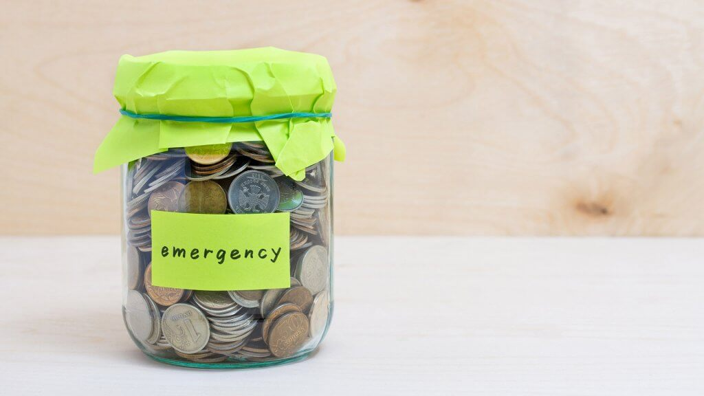 coin jar for emergencies