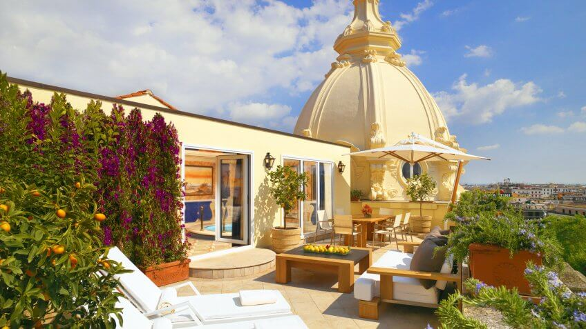 Free Hotel Perks in Rome, Mykonos and Athens