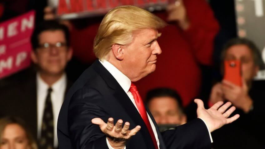 President Donald Trump's Net Worth Falls to $3.5 Billion