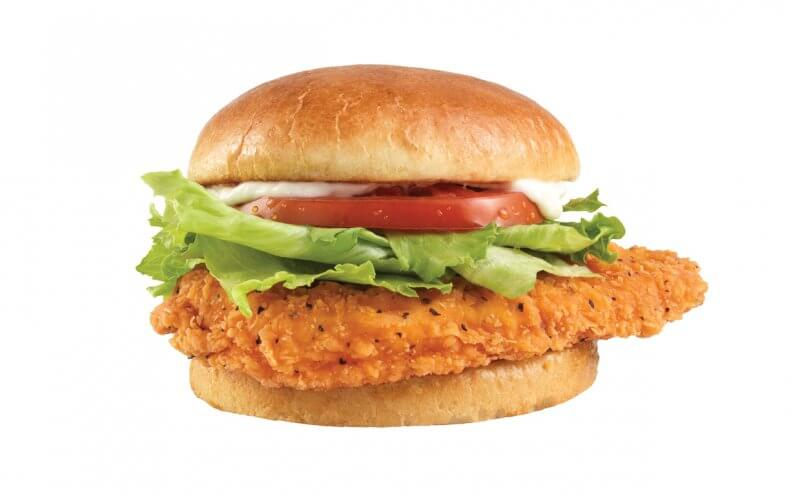 Best hot and spicy fast food menu items under 5 for Does wendy s have a fish sandwich