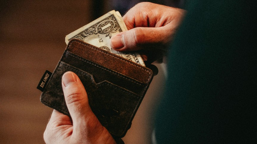 cash, wallet
