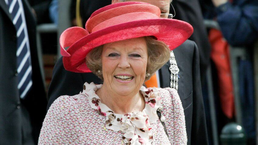 June 2008 - Queen Beatrix of the Netherlands during official public visit to the city of The Hague, Netherlands.