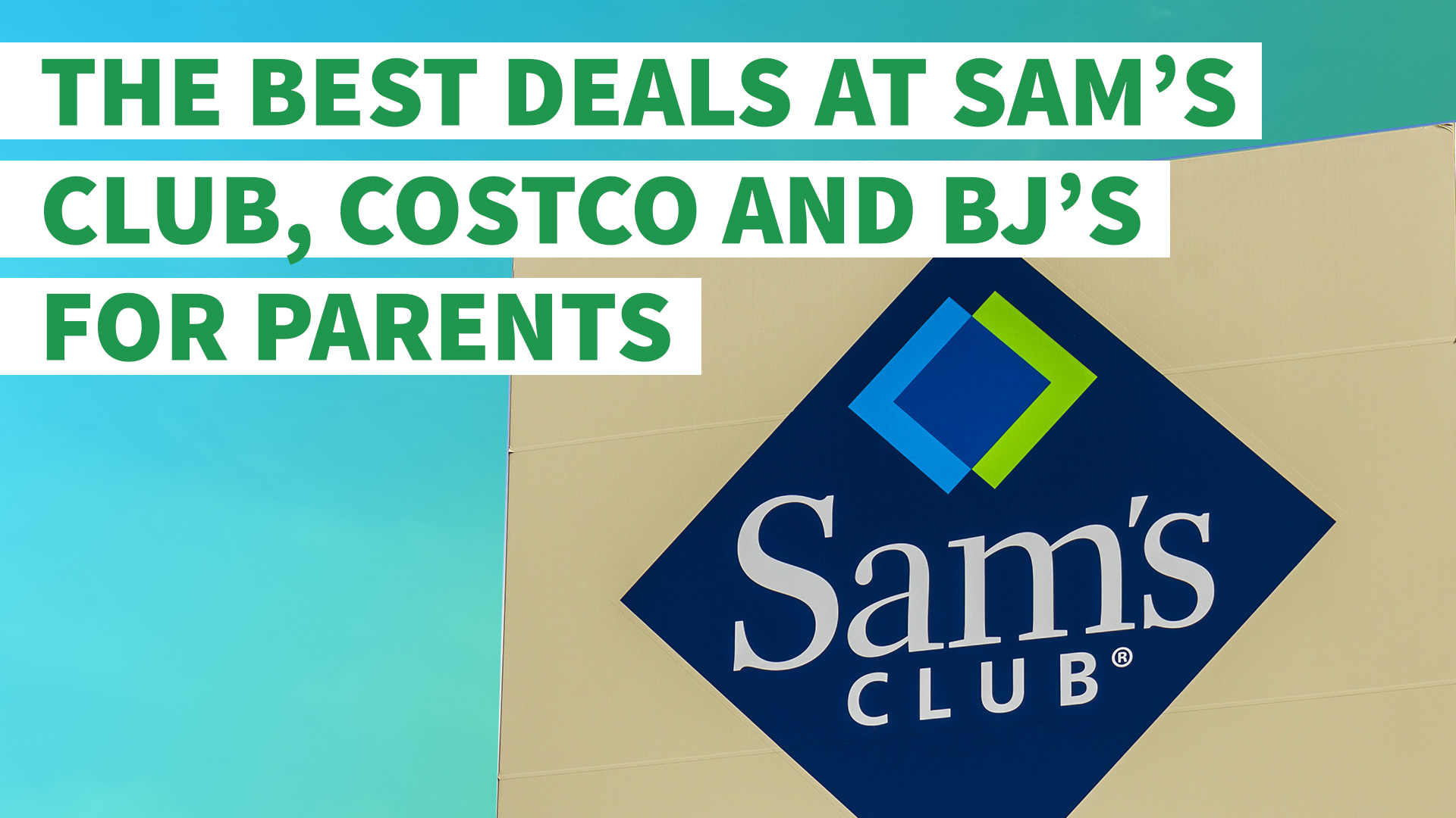 Sam s club credit card payment - The Best Deals At Sam S Club Costco And Bj S For Parents Gobankingrates