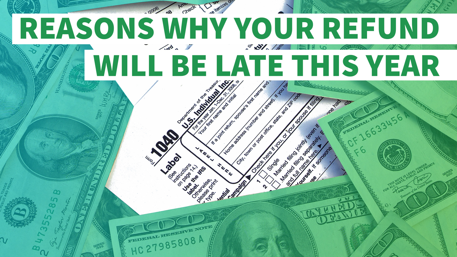 6 reasons why your refund will be late this year gobankingrates falaconquin