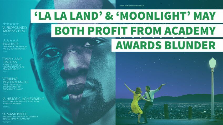 'La La Land' and 'Moonlight' May Both Profit From Academy Awards Blunder