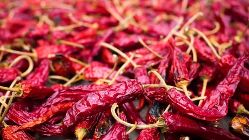 Individual Dried Chile Peppers