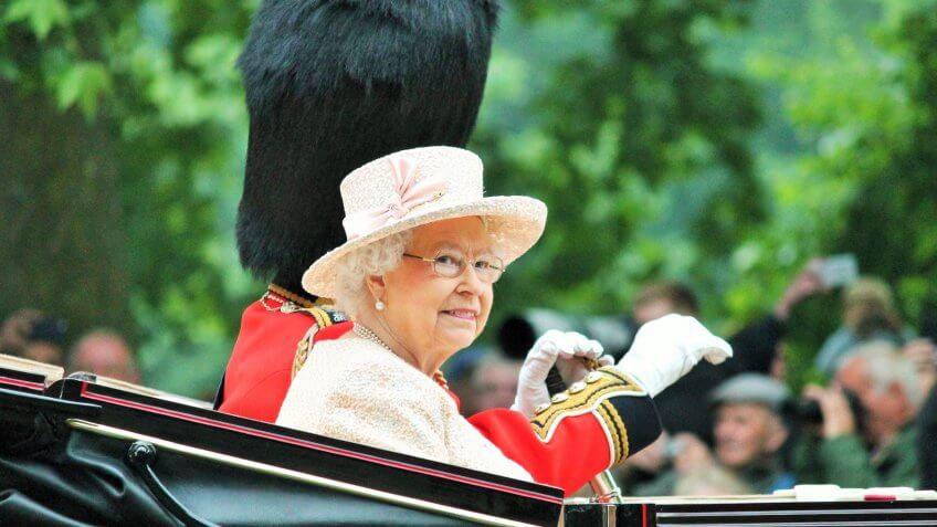 Queen Elizabeth II England