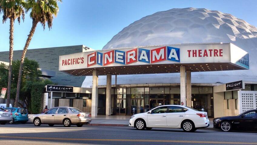 ArcLight Cinemas in Hollywood