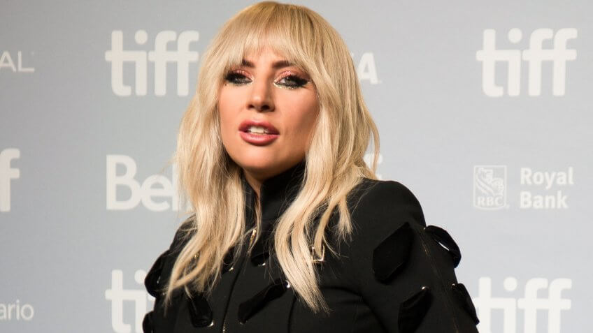 TORONTO, ON - September 8, 2017 - Lady Gaga at the Press Conference for her Netflix documentary Five Foot Two - Toronto Film Festival.