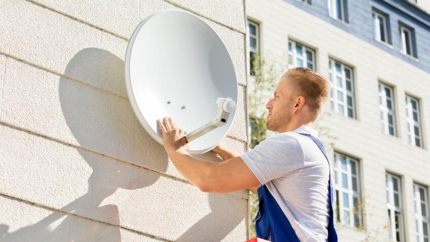 satellite-tv-installation