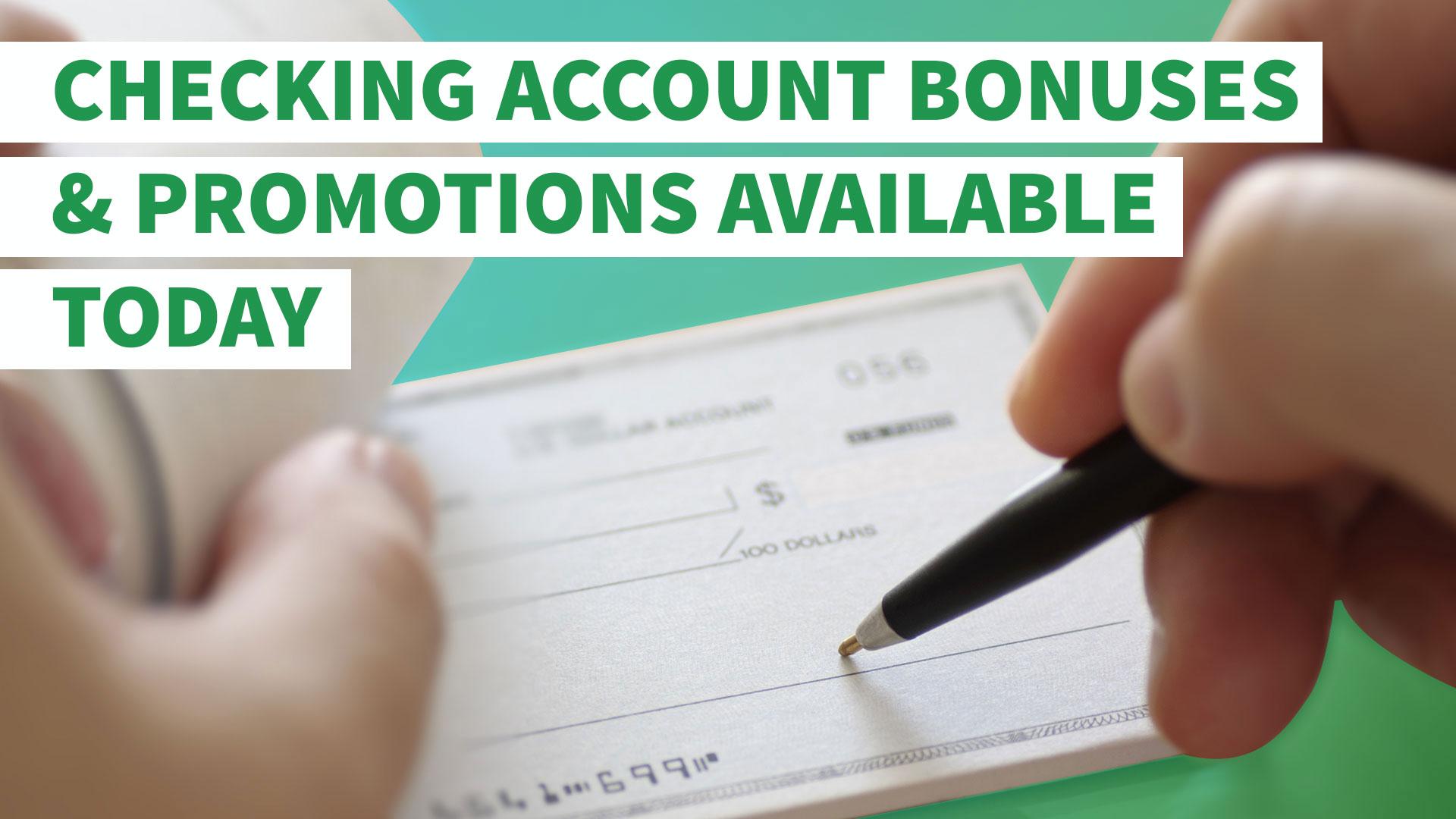 new checking account bonus bank of america