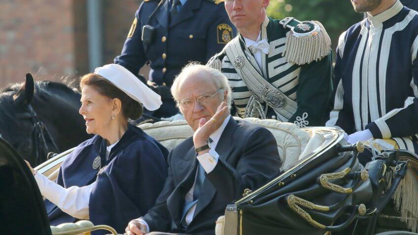 King Carl XVI Gustaf Sweden