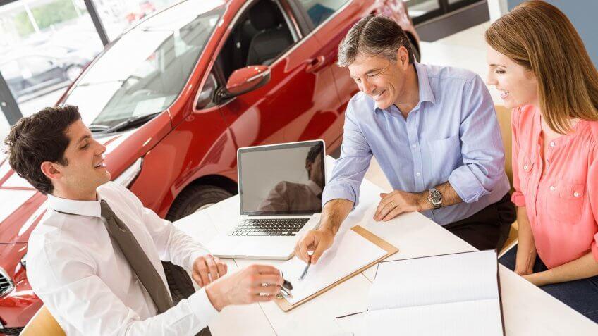 car loan couple
