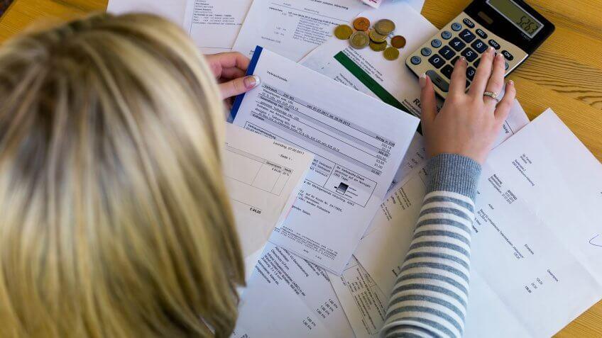 German, Horizontal, bills, taxes