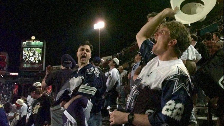 LOEFFLER DARCANGELO Dallas Cowboys fan Ted Loeffler, of Randolph N.