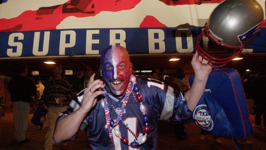 BREAULT New England Patriots fan Dave Breault, from New Bedford, Mass.