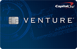 Venture from Capital One: 40,000 Miles