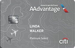 Citi AAdvantage Platinum Select World Elite MasterCard: 30,000 Miles