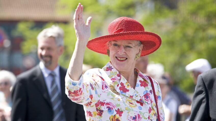 Queen Margrethe Alexandrine Ingrid Denmark