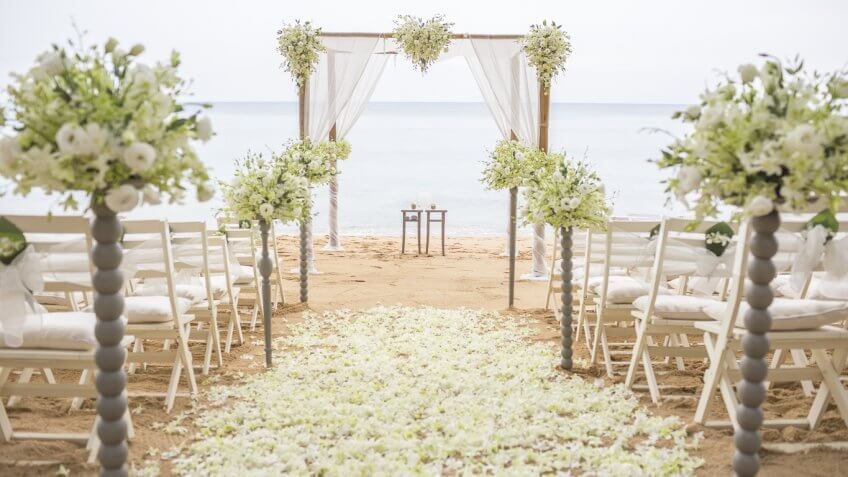wedding venue by the beach