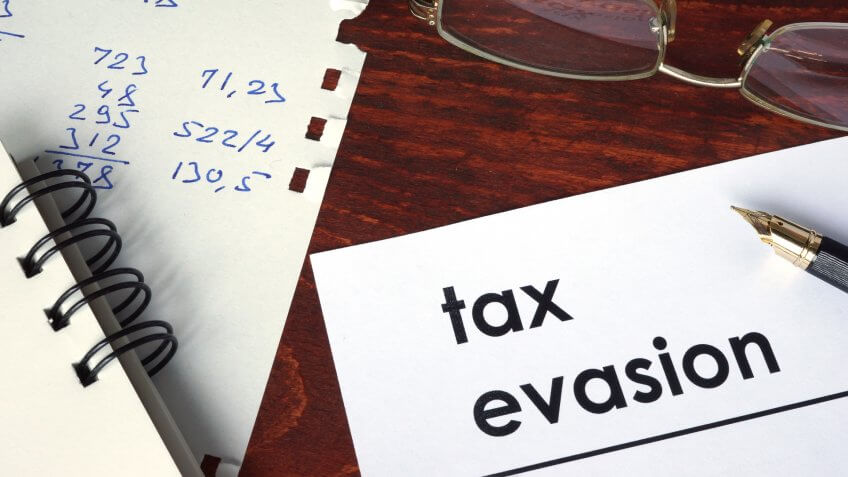 Report Tax Evasion and Other Types of Tax Fraud