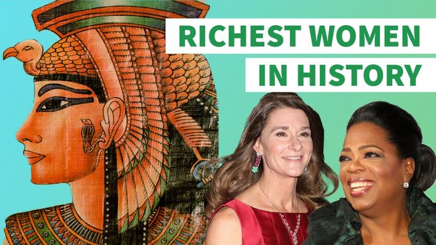 8 of the Richest Women in History