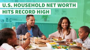 US Household Net Worth Hits Record High of $2.3 Trillion
