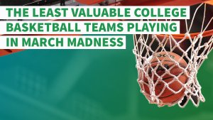 Ranked: The Least Valuable College Basketball Teams Playing in March Madness