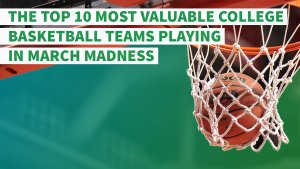 The Top 10 Most Valuable College Basketball Teams Playing in March Madness