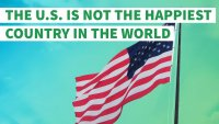 Red, White and Feeling Blue: Why the US Is Not the Happiest Country on Earth