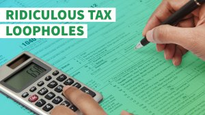10 Ridiculous Tax Loopholes