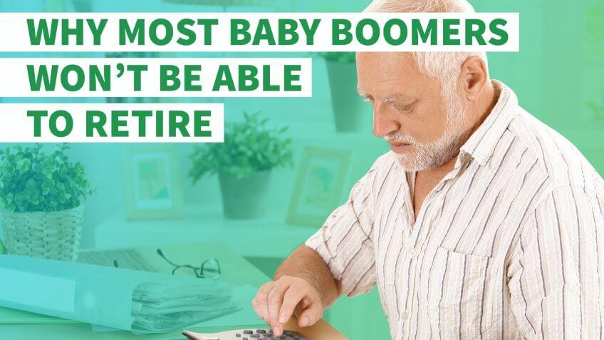 More Than Half of Americans Will Retire Broke