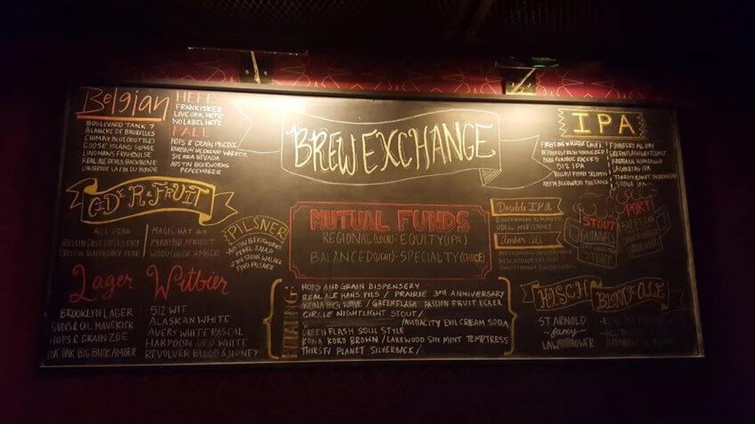 the brew exchange in austin, texas