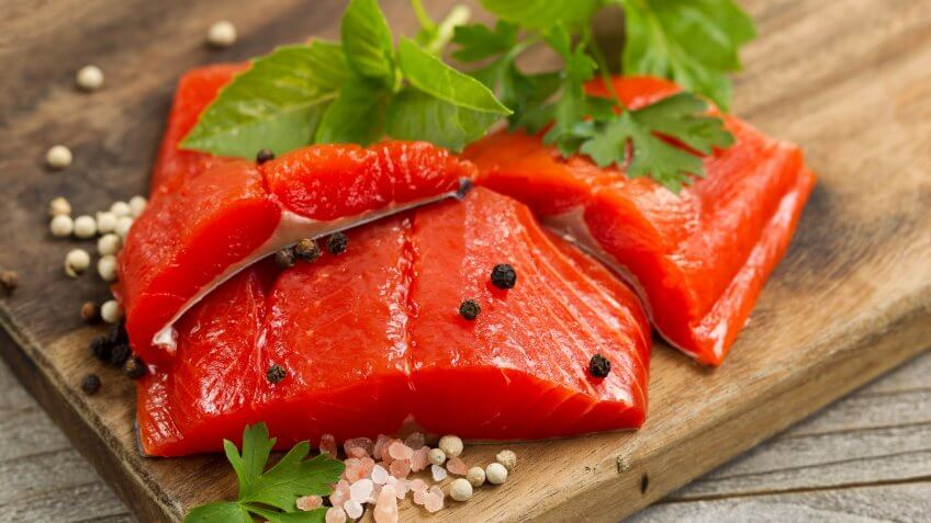 Wild-Caught Sockeye Salmon
