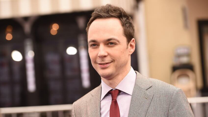 WESTWOOD, CA - MARCH 22:  Actor Jim Parsons attends the premiere of Twentieth Century Fox And Dreamworks Animation's 'HOME' at Regency Village Theatre on March 22, 2015 in Westwood, California.