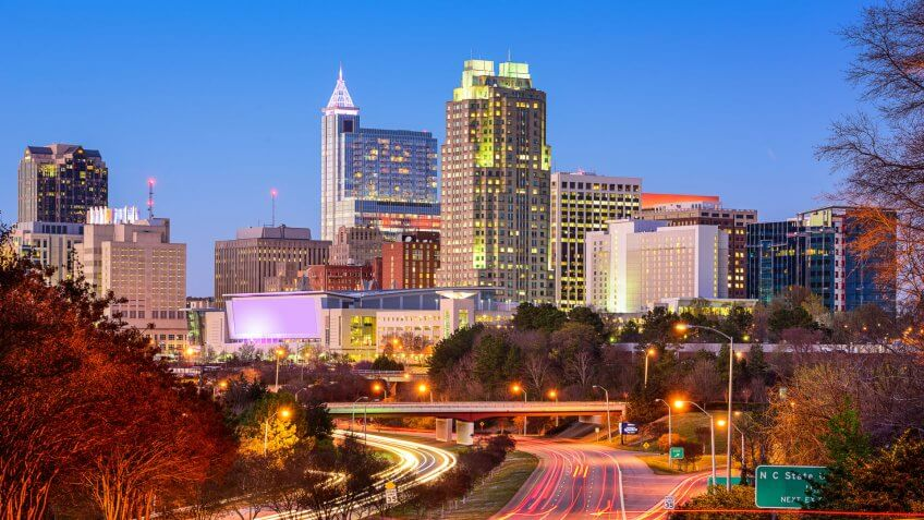 11716, Cities, Horizontal, Raleigh - North Carolina, US, USA, United States, america