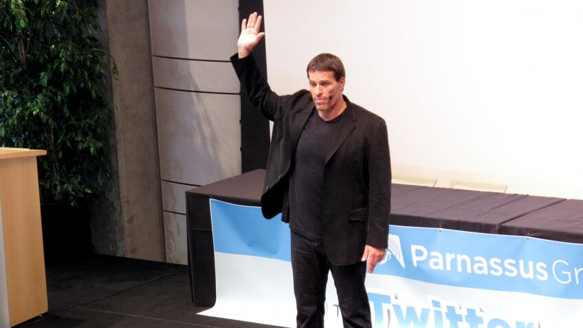 Tony Robbins Books and Programs