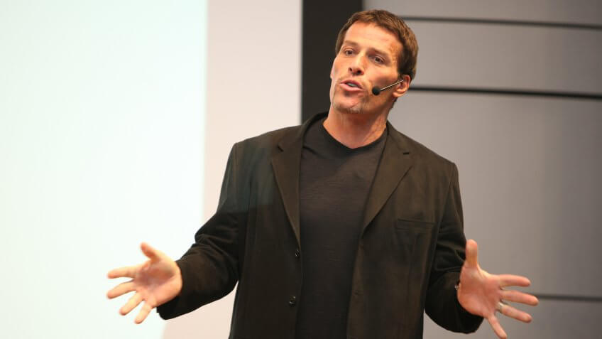 tony robbins speaking