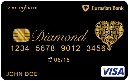 3) VisaInfiniteEurasianDiamondCard