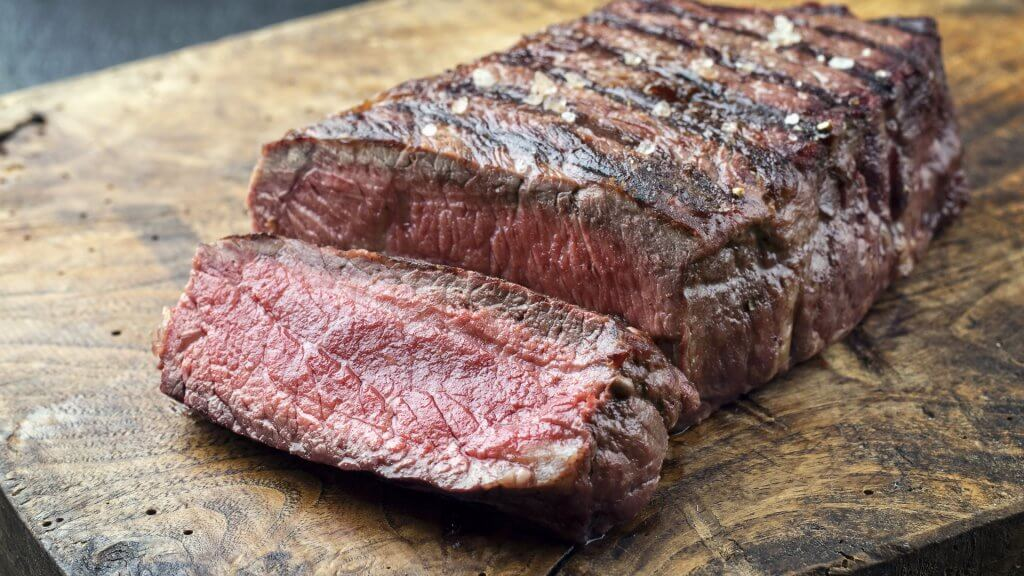 cooked Top Sirloin